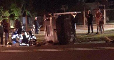 Seis pessoas feridas em acidente na BR-369, em Arapongas