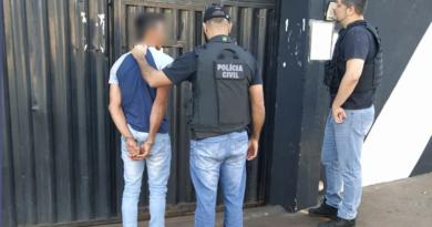 Polícia Civil prende homem acusado de estupro de menina na região de Lidianópolis