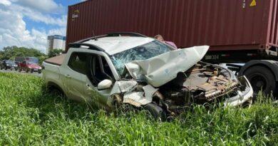 Prefeito de Ariranha do Ivaí sofre acidente na região de Ponta Grossa