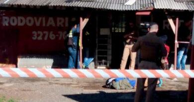 morto a tiros em Arapongas