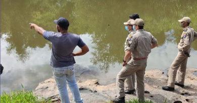 Bombeiros encontram corpo de jovem que se afogou em Grandes Rios