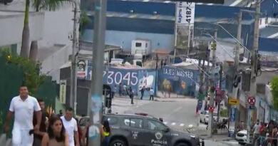 Dez pessoas são atropeladas em perseguição policial em SP
