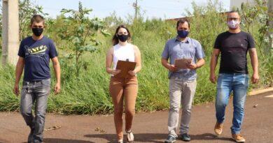 Meio Ambiente da Prefeitura de Ivaiporã inicia o trabalho de fiscalização de loteamentos e terrenos baldios.