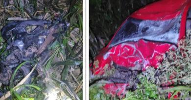 Colisão entre carro e moto deixa três mortos na BR-163 no Paraná