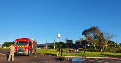 Acidente na BR-369 mata motoqueiro nesta sexta-feira
