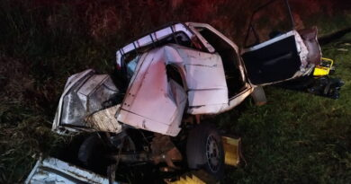 IML confirma a morte de adolescente que se feriu em acidente na BR-376