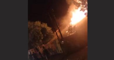 Incêndio destrói casa na Vila Nova Porã, em Ivaiporã