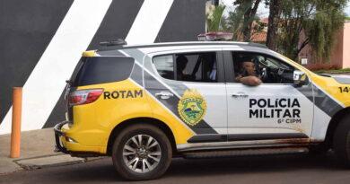 Polícia Militar flagra homem portando munições intactas, em Ivaiporã