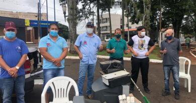 Jardim Alegre promove campanha de recolhimento de lixo eletrônico