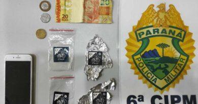 ROTAM prende jovens com 50 micropontos de LSD