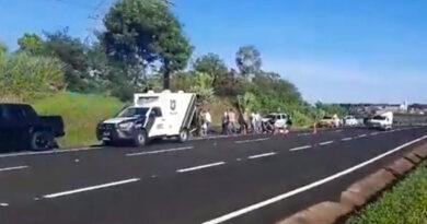 Motociclista morre em acidente na manhã desta quarta, em Apucarana