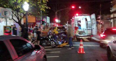 Pedestre é atropelado no centro de Apucarana