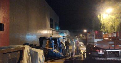 Bombeiros combatem incêndios criminosos em Faxinal