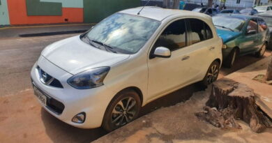 Marido presenteia esposa com carro roubado no Paraná