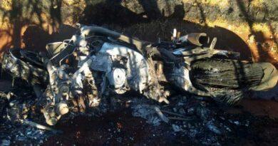 Motociclista de Pitanga morre em acidente na PR 317, em Engenheiro Beltrão