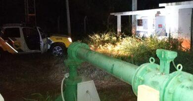 Ladrão invade subestação da Sanepar em São João do Ivaí
