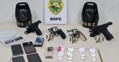 Homem morre em confronto com policiais em Ponta Grossa
