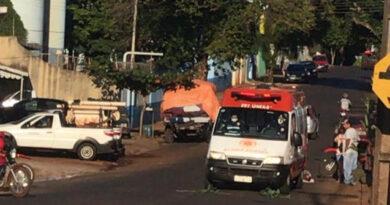 Motociclista fica ferido em acidente em São João do Ivaí