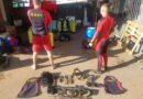 Bombeiros encontram fuzis perdidos durante missão policial