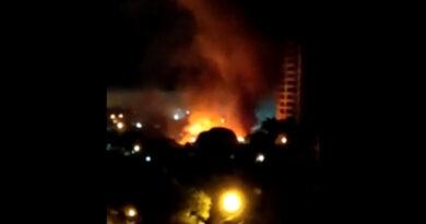 Incêndio em Apucarana destrói estamparia