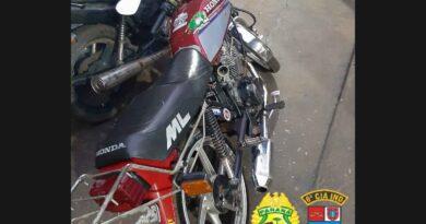 Moto com alerta de furto é recuperada em Jardim Alegre