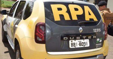PM prende ladrão em flagrante após furto à residência em Ivaiporã