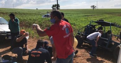 """Um morto e outro ferido em acidente com """"gaiola cross"""", em Santa Fé"""
