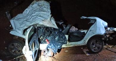 rmãs morrem em acidente na BR-369, em Corbélia