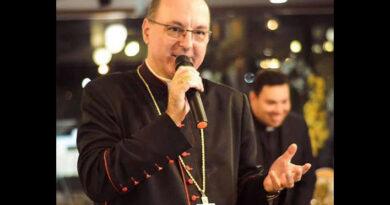Dom Carlos José bispo da diocese vence a Covid-19