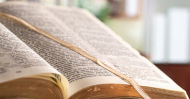 Casa é furtada e ladrão leva até bíblia