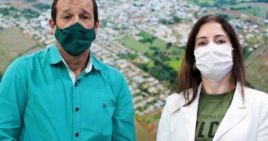 Prefeito de Jardim Alegre e a secretária de saúde falam sobre novo decreto Covid