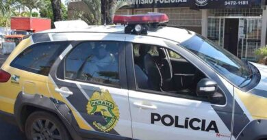 Suspeita de tráfico de drogas em Ivaiporã é conduzida a 54ª DRP