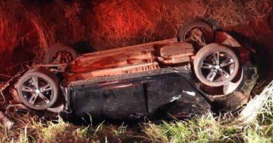 Três pessoas morrem em acidente na PR-573, em Braganey