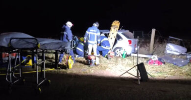 Motorista fica ferido em acidente na BR-369, em Bom Sucesso