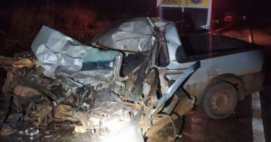 acidente foi registrado na altura do km 68 da BR 376, no município de Guairaça
