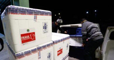 SESA recebe mais doses de vacina e começa a distribuir nesta quarta