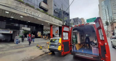 Jovem sobrevive a queda de quase 10 andares em Curitiba