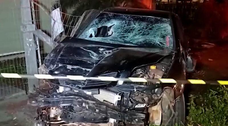 Homem atropela ex-companheira e mata atual namorado dela