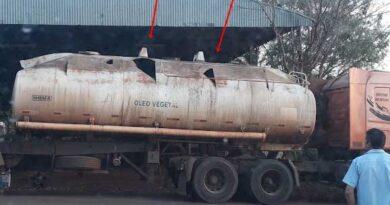 Explosão durante solda em tanque de caminhão deixa um ferido, em São Pedro do Ivaí