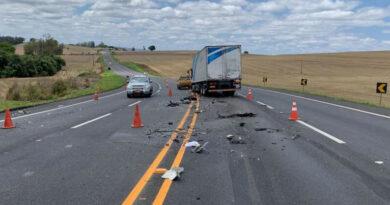Identificado vítima fatal de acidente na PR-444