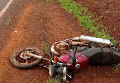 Motociclista morre em acidente com caminhão na PR-170, em Rolândia