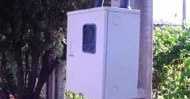 Criminosos furtam padrão de energia de residência