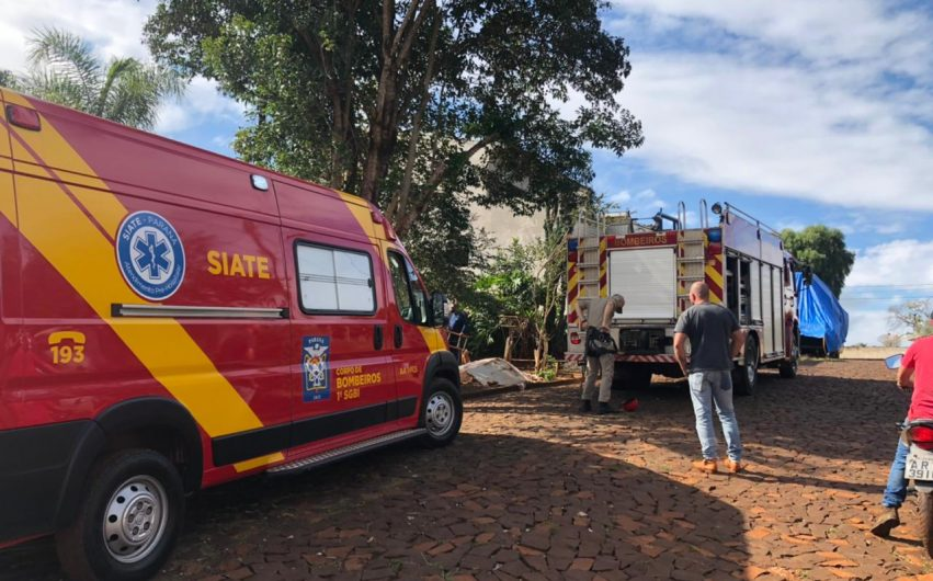 Bombeiros no Jardim Guanabara dois