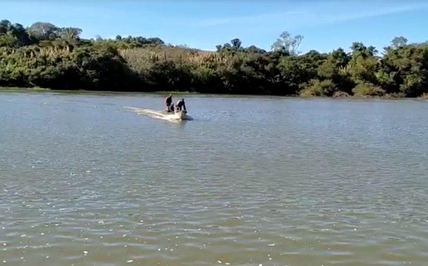 Buscas no Rio Ivaí