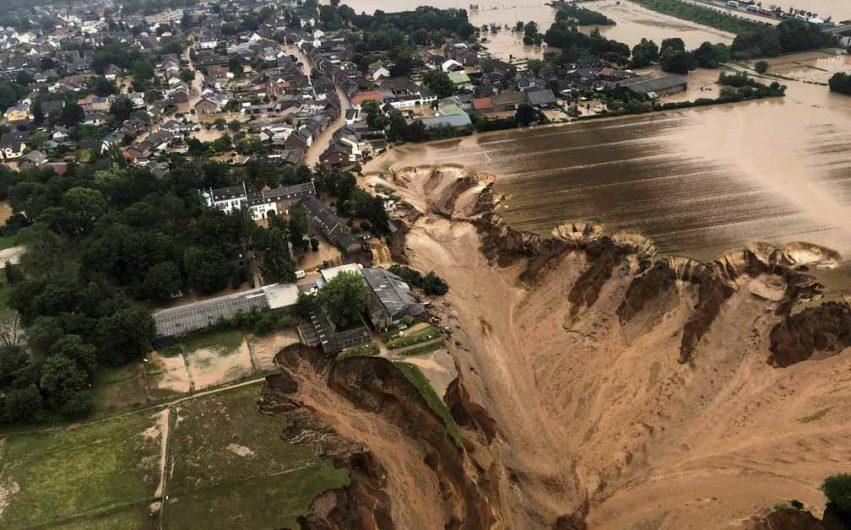 Enchentes são aterrorizantes, diz Merkel; mortes chegam a 188